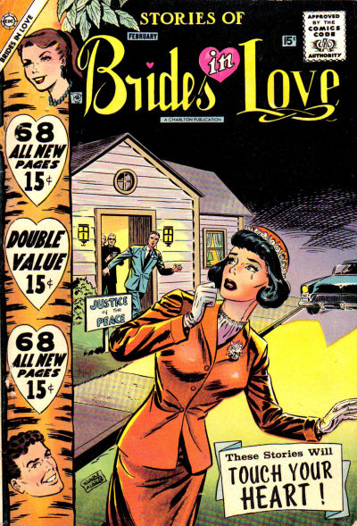 Cover for Brides in Love (Charlton, 1956 series) #7