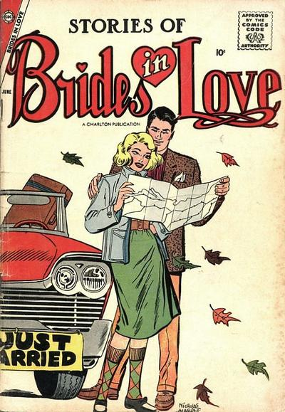 Cover for Brides in Love (Charlton, 1956 series) #8