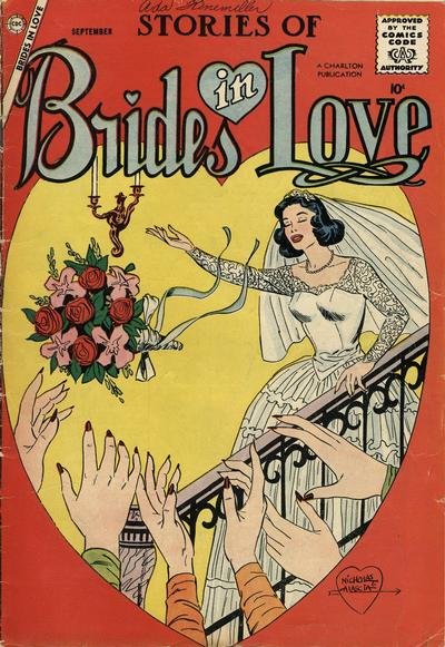 Cover for Brides in Love (Charlton, 1956 series) #9