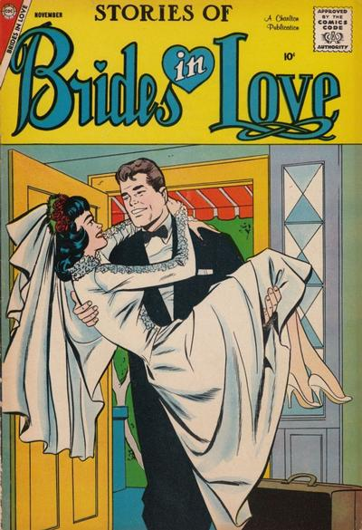 Cover for Brides in Love (Charlton, 1956 series) #10