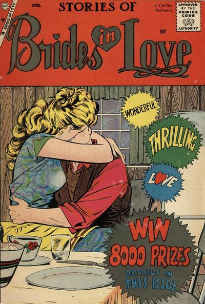 Cover for Brides in Love (Charlton, 1956 series) #12