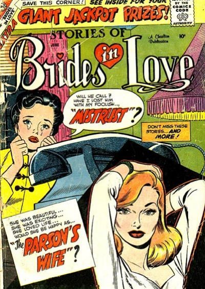 Cover for Brides in Love (Charlton, 1956 series) #13
