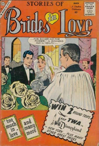 Cover for Brides in Love (Charlton, 1956 series) #17