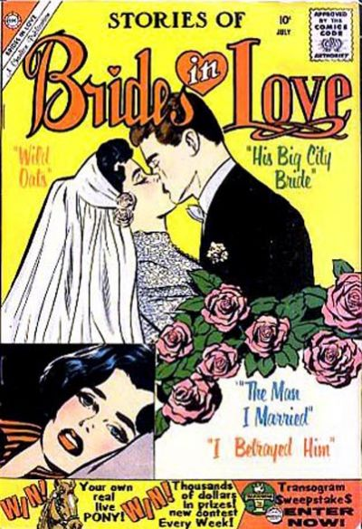 Cover for Brides in Love (Charlton, 1956 series) #19