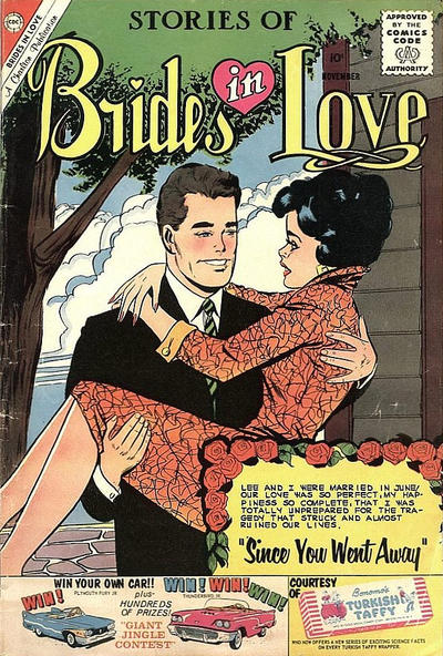 Cover for Brides in Love (Charlton, 1956 series) #21