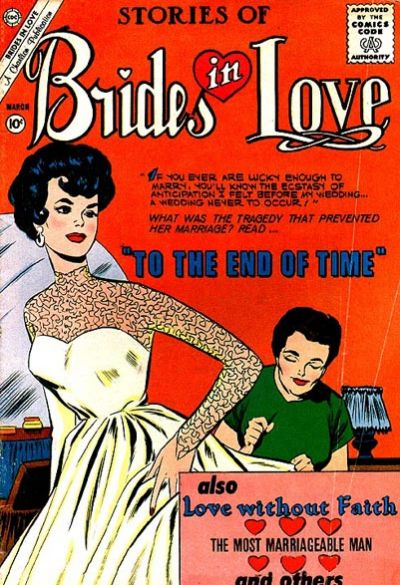 Cover for Brides in Love (Charlton, 1956 series) #23