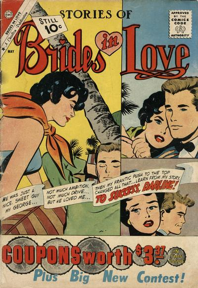 Cover for Brides in Love (Charlton, 1956 series) #24 [British price variant]