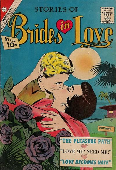 Cover for Brides in Love (Charlton, 1956 series) #25