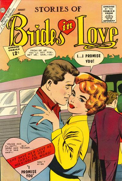 Cover for Brides in Love (Charlton, 1956 series) #31