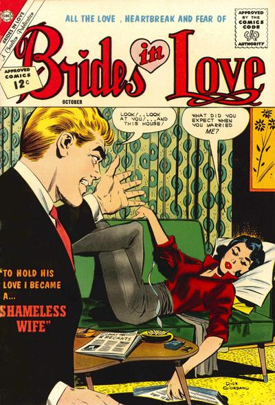 Cover for Brides in Love (Charlton, 1956 series) #32