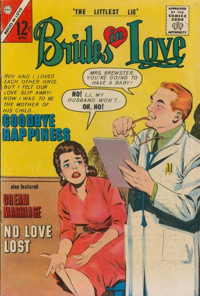 Cover for Brides in Love (Charlton, 1956 series) #35