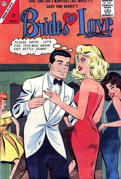 Cover for Brides in Love (Charlton, 1956 series) #37