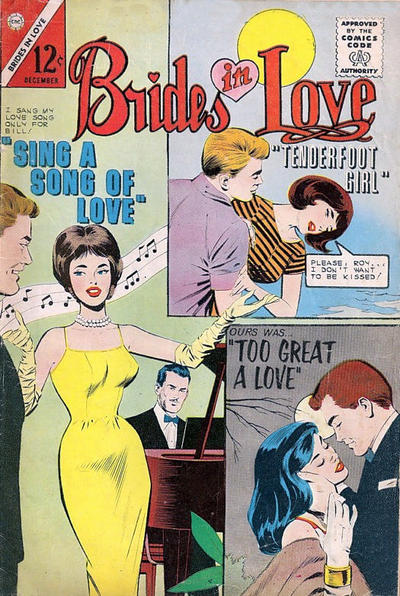 Cover for Brides in Love (Charlton, 1956 series) #39