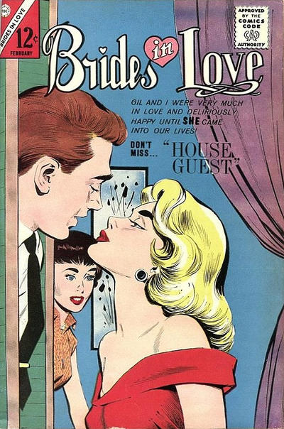 Cover for Brides in Love (Charlton, 1956 series) #40