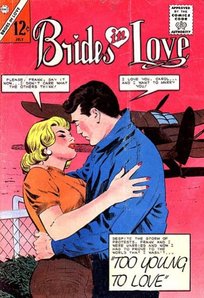 Cover for Brides in Love (Charlton, 1956 series) #42