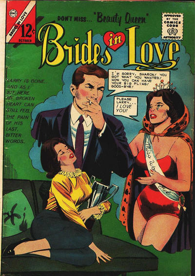 Cover for Brides in Love (Charlton, 1956 series) #43