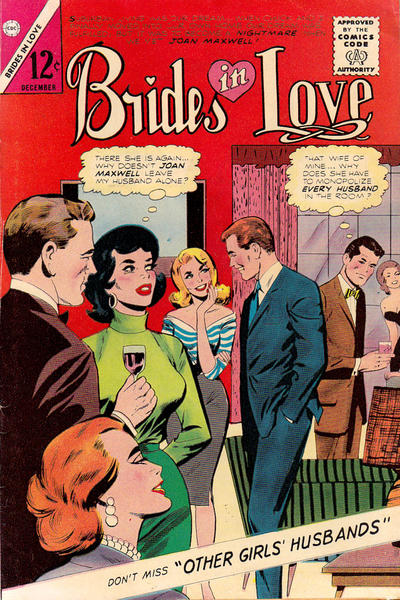 Cover for Brides in Love (Charlton, 1956 series) #44