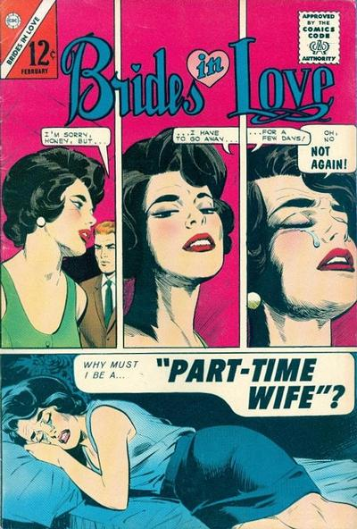 Cover for Brides in Love (Charlton, 1956 series) #45