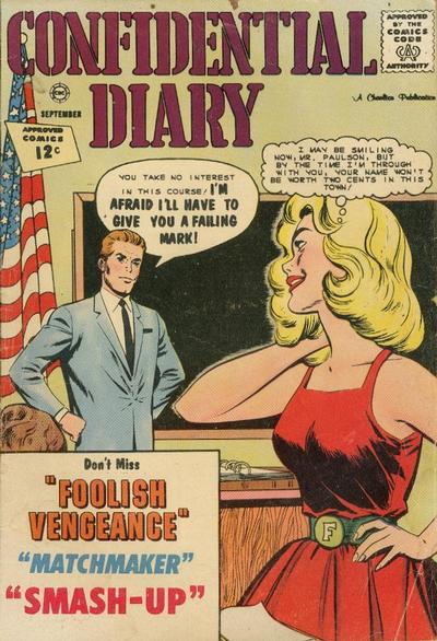 Cover for Confidential Diary (Charlton, 1962 series) #14