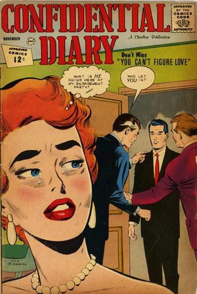 Cover for Confidential Diary (Charlton, 1962 series) #15