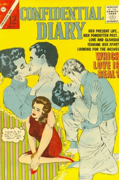 Cover for Confidential Diary (Charlton, 1962 series) #16