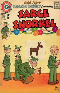 Cover Thumbnail for Sarge Snorkel (Charlton, 1973 series) #3