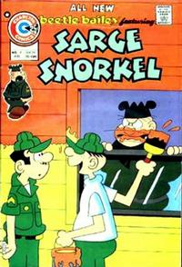 Cover Thumbnail for Sarge Snorkel (Charlton, 1973 series) #9