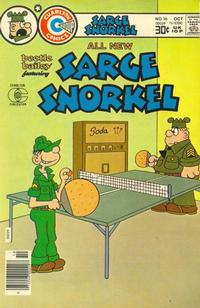 Cover Thumbnail for Sarge Snorkel (Charlton, 1973 series) #16