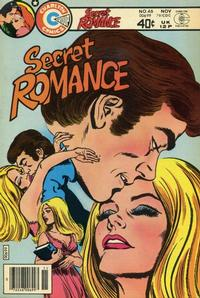 Cover Thumbnail for Secret Romance (Charlton, 1979 series) #46