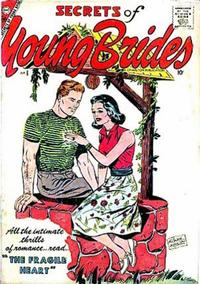Cover Thumbnail for Secrets of Young Brides (Charlton, 1957 series) #6