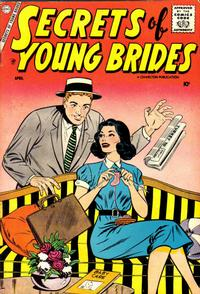 Cover Thumbnail for Secrets of Young Brides (Charlton, 1957 series) #8