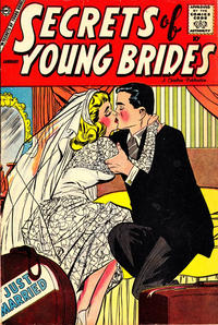 Cover Thumbnail for Secrets of Young Brides (Charlton, 1957 series) #12