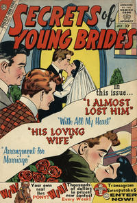 Cover Thumbnail for Secrets of Young Brides (Charlton, 1957 series) #20