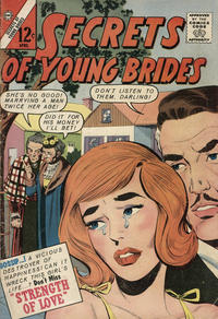 Cover Thumbnail for Secrets of Young Brides (Charlton, 1957 series) #36