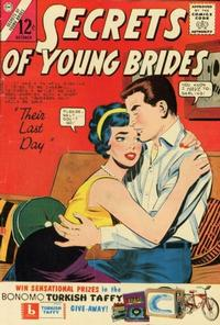 Cover Thumbnail for Secrets of Young Brides (Charlton, 1957 series) #39
