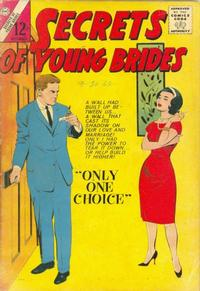Cover Thumbnail for Secrets of Young Brides (Charlton, 1957 series) #40