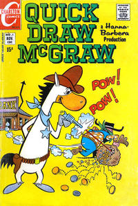 Cover Thumbnail for Quick Draw McGraw (Charlton, 1970 series) #1