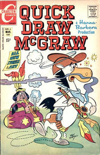 Cover Thumbnail for Quick Draw McGraw (Charlton, 1970 series) #3