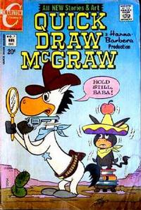 Cover Thumbnail for Quick Draw McGraw (Charlton, 1970 series) #7