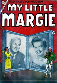 Cover Thumbnail for My Little Margie (Charlton, 1954 series) #1