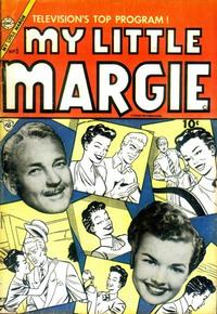 Cover Thumbnail for My Little Margie (Charlton, 1954 series) #5