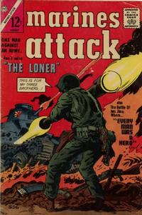 Cover Thumbnail for Marines Attack (Charlton, 1964 series) #1