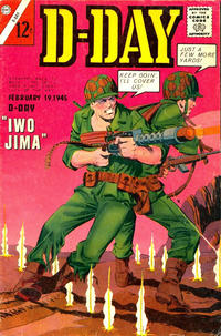 Cover Thumbnail for D-Day (Charlton, 1963 series) #2
