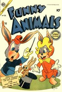 Cover Thumbnail for Funny Animals (Charlton, 1954 series) #84