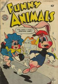 Cover Thumbnail for Funny Animals (Charlton, 1954 series) #87