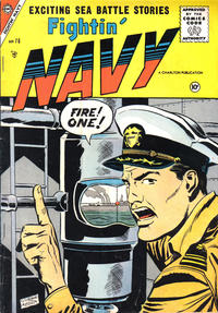 Cover Thumbnail for Fightin' Navy (Charlton, 1956 series) #76