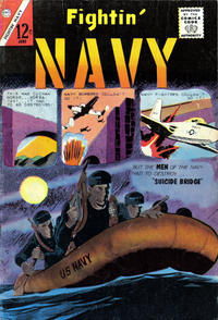 Cover for Fightin' Navy (Charlton, 1956 series) #110