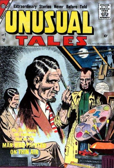 Cover for Unusual Tales (Charlton, 1955 series) #7