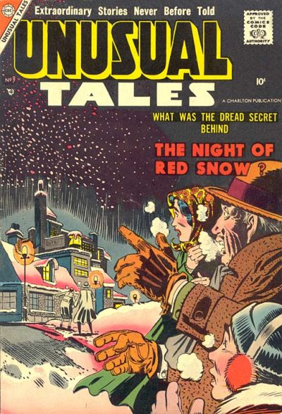Cover for Unusual Tales (Charlton, 1955 series) #9