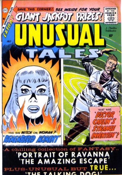 Cover for Unusual Tales (Charlton, 1955 series) #17